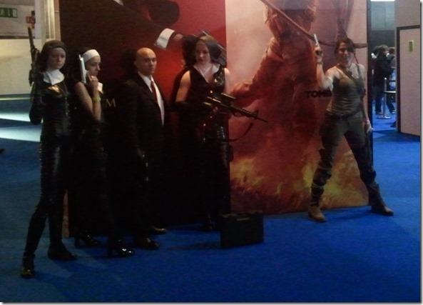 Nuns, Hitman and Lara!